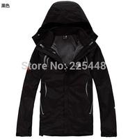 ski jacket fashion the new American Mens Outdoor coats Waterproof Soft Shell Jackets Dark down wear coat vest