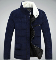 New arrival hot mens winter parka jacket casual slim teenager men's winter jackets coat