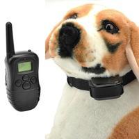 Hot Waterproof LCD  100LV Level Shock Vibra Remote Pet Dog Training Collar T0149 T