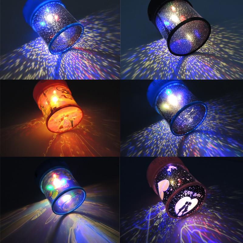 Led projection lamp toy light sleep marine romantic gifts small night light baby(China (Mainland))