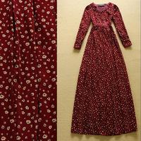 2014 Women's Vintage small flat flannelette elegant slim sweetheart neckline formal dress Full dress one-piece dress