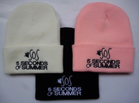 sos 5 seconds of sunmmer knit beanies in black white pink  men designer  skullies snapbacks cap & beani hats hot sale  !