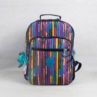 Dots & stripes printing backpack women monkey bags nylon school bags girls travel bags  K012064-2