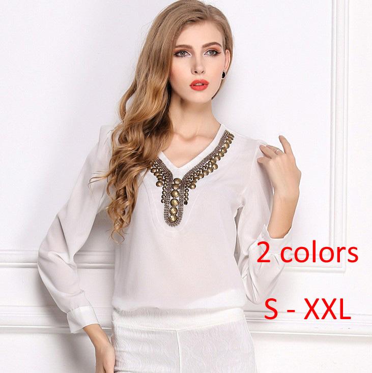 Женские блузки и Рубашки 2015 Blusas Femininas #sy033 женские блузки и рубашки romantic beach 2015 blusas sh051