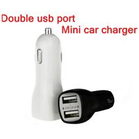 full 2A Dual 2 Port Universal Mini USB Car Charger Adapter