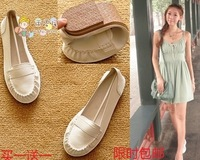 2014 fashion spring and autumn flat heel single shoes flat princess shoes cute shoes female