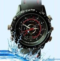 New HD 720P Built-in 8GB Waterproof Watch Digital Video Camera 720x480 AVI Mini Camcorder DVR