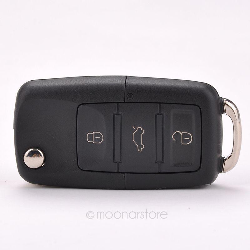 Cheap Folding Car Remote Flip Key Shell Case Fob For Volkswagen Vw Jetta Golf Passat Beetle Polo Bora 3 Buttons FMHM476#S5(China (Mainland))
