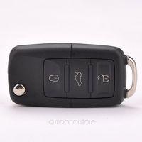 Cheap Folding Car Remote Flip Key Shell Case Fob For Volkswagen Vw Jetta Golf Passat Beetle Polo Bora 3 Buttons FMHM476#S5