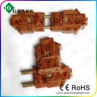free shipping 250V 10A AG bakelite plug glue wood plug 10A