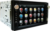 Car DVD navigation Capacitive screen Android 4.2 Dual-core speed operating system 8G large body memory