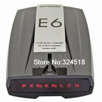E6 Car Detector New 2014 Car Radar Detector Russian Version with LED Display Anti Radar For Car Speed Limited