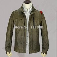 2014 new winter jacket men's fashion business thin coat jacket 012c