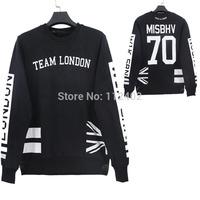 2014  new sweatshirts hoodies pullover  my whole life  print brand  crewneck racksuit sportswear punk hip hop