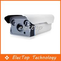 "Free shipping Woshida 1/4"" CMOS 2x Array IR 1.0MP HD 720P Onvif CCTV Security Network IP Camera Waterproof"