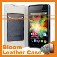 2014 High Quality Fashion PU Leather Case For Wiko Bloom Android Smartphone