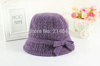 Women's Hot Sale New Korea Crimping Wool Tide Knit Basin Hats Winter Hat YKFL320 Wholesale Free Shipping