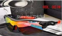 2014 HOT !! Free shipping NEW sunglassMen women Cycling Sport Sunglasses Radarlock Path Sport eyewear RADAR /5 pcs Lens with box