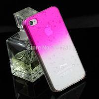 Hot sale! 3D Transparent Water drop Raindrop Plastic Slim Case Cover For iPhone 5S 5 Hot
