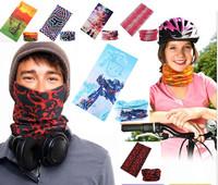 300 styles Bandanas Sports Riding Cycling Bicycle Motorcycle Riding Variety Turban Magic Headband Veil Multi Head Scarf Scarves