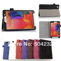 "High Quality Hand Strap Stand Leather Case Cover Skin Card Wallet For Samsung Galaxy tab Pro 8.4"" SM-T320"