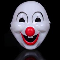 Fun Halloween show children's cartoon show little hard plastic clown mask mask