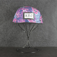 paisley hat  NYC letter wholesale Snapback  100% cotton snapback with in cheap price dancer cap with hip hop style
