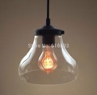Vintage Loft Industrial American Lustre Glass Edison Pendant Lamp Kitchen Dinning Living Room Modern Home Decor Lighting