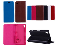 Z2 Pouch 100% Genuine Leather Stand Design Case For Sony Xperia Z2 Luxury Book Flip Cover- Free Shipping