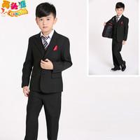 Male child suit  child formal dress boy small flower girl dress boys suit (Size2-14)