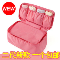 2014 new travel pouch bag waterproof multifunction finishing underwear bra collection pouch suit free shipping
