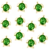 20pcs/lot Free Shipping Fashion Diy Alloy Enamel Turtle Floating Charm For Origami Owl Memory Living Locket