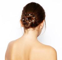 Hot Sales 6 pcs/lot Hair Jewelry Wedding Bridal Hair Accessories Hair Pin Rhinestone Spiral Tiara Hair Accessories for Women