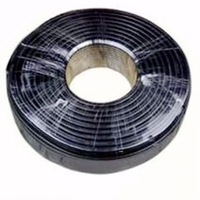 Coaxial Cable A Roll=200m,Free send 10 BNC connectors,RG59,75-5,#128(Shielding layer),Anti-interference