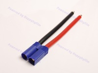FREE Shipping Lot( 10) EC5 Male Connector Adapter & 10CM 10awg Wire for RC ESC Charger Side