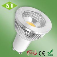 2014 hot sale NEW High lumen COB GU10 5w spot light