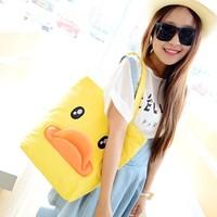 Big bags little duck school bag lovely b.duck bag canvas shoulder bag