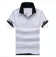HOT SELL 2014 Newest Men Polo shirt  Short Sleeve POLO Men Shirts Fashion Casual Shirt Cotton