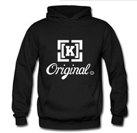 Hip-hop skateboard cotton sweatshirts sets of the first wave of cards KR3W_ORIGINAL male and female lovers hoodies KREW