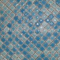 [Mius Art Mosaic] Sky blue ceramic mosaic  for swimming pool ,kitchen backsplash B7013