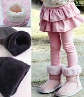 FREE SHIPPING girl leggings Girl's winter pants,  baby pants kids  warm leggings Children's winter cotton pants