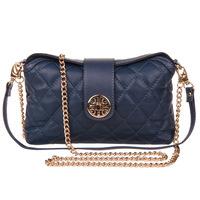 New 2014 Fashion Genuine Leather Shoulder Handbag 100% Sheepskin Bag Quilted Chain Women Messenger Bags Famous Brand Plaid Bags