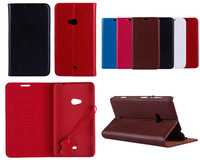 100% Genuine Leather  2014 fashion luxury flip stand leather phone case for Nokia Lumia 625 N625 retail&wholesale-Free Shipping
