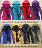 new fashion men winter jackets women coat autumn outdoor outwear sports windbreaker 2pc parkas brand lovers couple free shipping