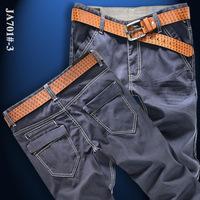 Guangzhou manufacturers, accusing the high-end men's trousers Slim trousers men's Korean Slim pants a generation of fat