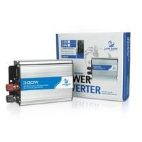 qc002-3 Free shopping 1pcs car charger with 220v 300w power converters USB inverter 12v / 24v to 220v  cigarette lighter