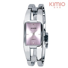 Fashion Kimio Brand wholesale Retail stainless steel luxury jewelry bangle women Dress Wristwatches Ladies Quartz Watch