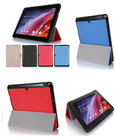 """5 in1 Kits,OTG Cable+2Pcs Screen Protector+Stylus+Ultra Thin Stand Book Cover Case For ASUS Transformer Pad TF103C 10.1"""" Tab"""
