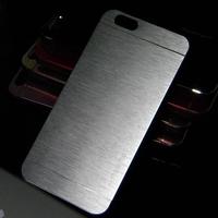 metal case for iphone 6 4.7 inch motomo metal aluminium fashion Brushed case cover 10pcs free shipping