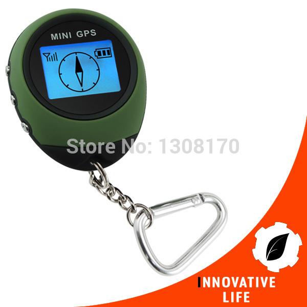 Digital Mini GPS Receiver Outdoor and Location Finder Navigator + 24 POI Memory Sport Hiking Camping Biking Travel GPS Tracker(China (Mainland))